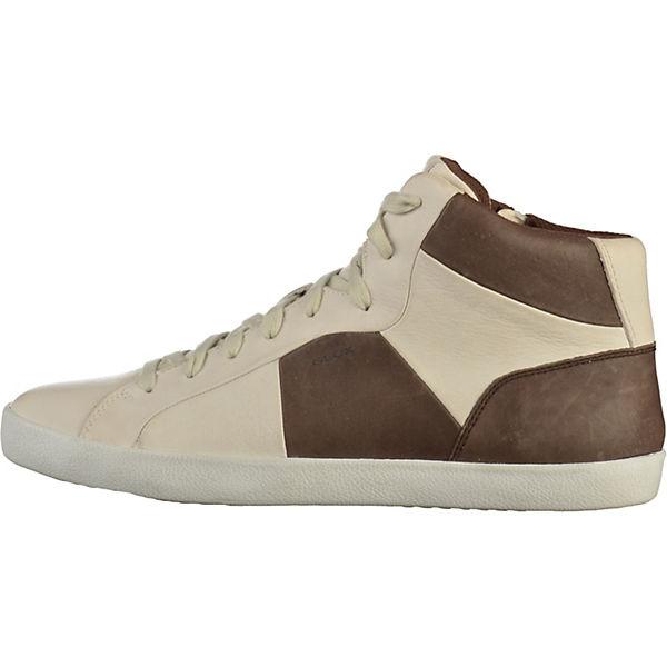 GEOX GEOX High High Sneakers weiß Sneakers GEOX Sneakers weiß weiß High RWwAq0rR