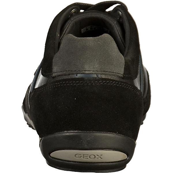 Low schwarz Sneakers Sneakers GEOX schwarz GEOX GEOX Low Low schwarz Sneakers qxTqapwt