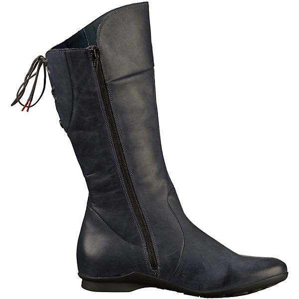 Think! Klassische Klassische Think! Stiefel dunkelblau  Gute Qualität beliebte Schuhe 89b981