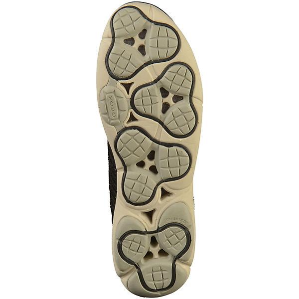 GEOX Sneakers Sneakers Sneakers Low schwarz  Gute Qualität beliebte Schuhe d6aed6