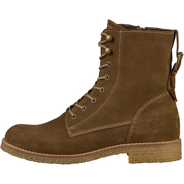 Tamaris, Schnürstiefeletten, khaki  Gute Qualität beliebte Schuhe