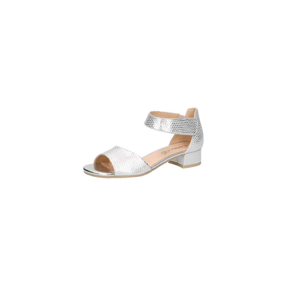 CAPRICE, Klassische Sandaletten, silber  Gute Qualität beliebte Schuhe