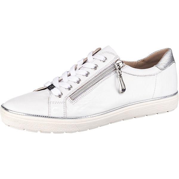 Caprice Low Low Caprice Sneakers Sneakers Weiß Weiß Sneakers Caprice lKcu1TJ3F