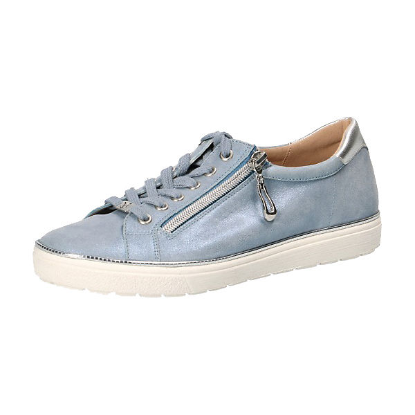 closer at footwear usa cheap sale CAPRICE, Sneakers Low, metallicblau