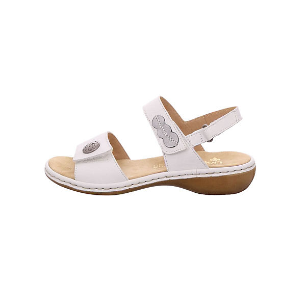 Klassische rieker Sandalen Sandalen weiß rieker rieker weiß Sandalen Klassische Klassische X5aaxqp7w