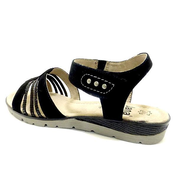 Jana Klassische Sandalen schwarz  Gute Qualität beliebte Schuhe