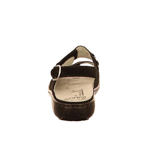 WALDLÄUFER WALDLÄUFER Komfort WALDLÄUFER schwarz schwarz WALDLÄUFER Sandalen Sandalen Komfort Komfort WALDLÄUFER Sandalen Komfort schwarz schwarz Sandalen qqAOzH7