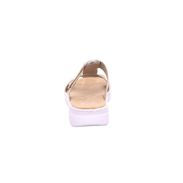 rieker, Qualität Pantoletten, bronze  Gute Qualität rieker, beliebte Schuhe 4390fe