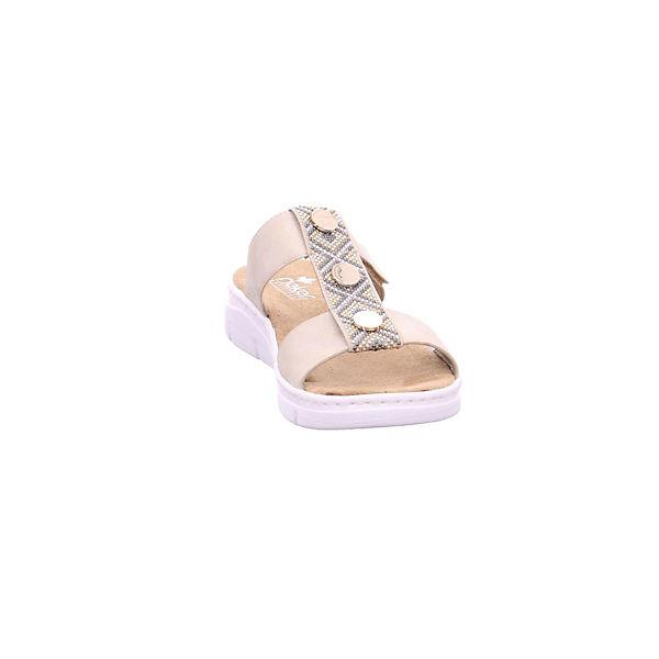 rieker, Qualität Pantoletten, bronze  Gute Qualität rieker, beliebte Schuhe 11d769