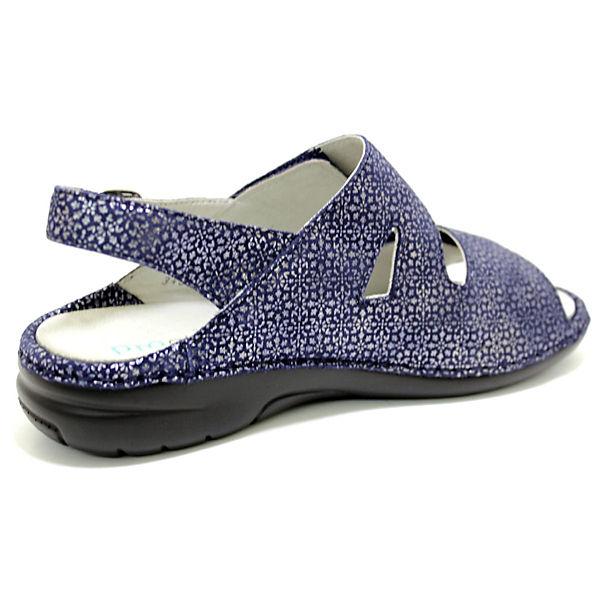 WALDLÄUFER Komfort-Sandalen blau Schuhe  Gute Qualität beliebte Schuhe blau 42d34f