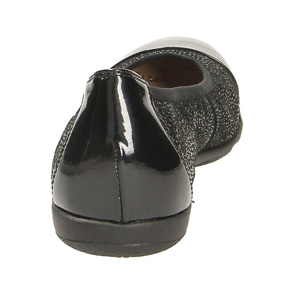 CAPRICE, Klassische Ballerinas, schwarz    Gute Qualität beliebte Schuhe 6dba27