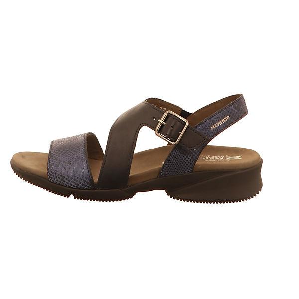 MEPHISTO, Klassische Sandalen, blau  Gute Qualität beliebte Schuhe