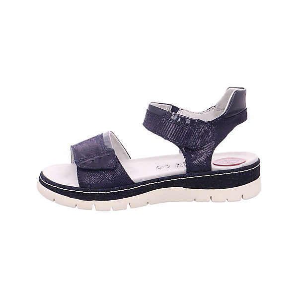 Jana, Klassische Sandalen, blau