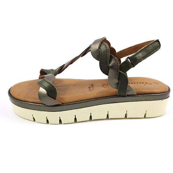 Tamaris, Gute Klassische Sandalen, grün  Gute Tamaris, Qualität beliebte Schuhe 3eb5fc