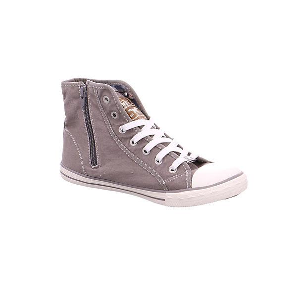 MUSTANG, Sneakers High, grau   grau  5db83f