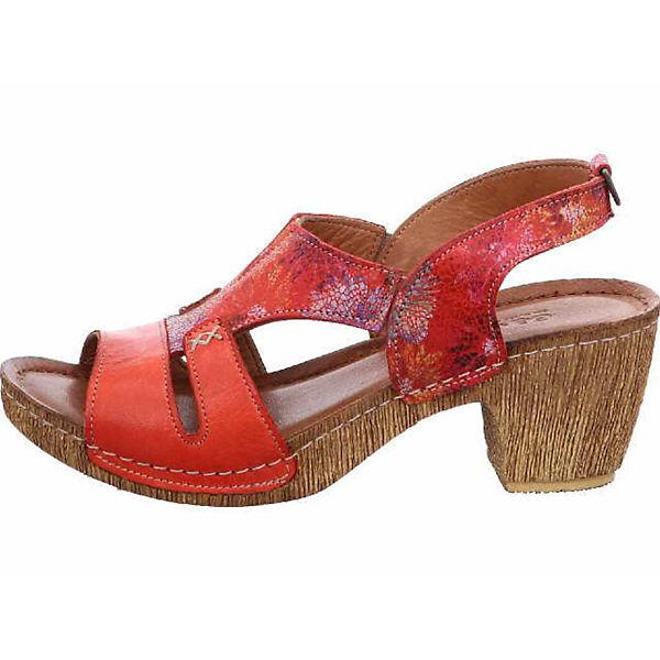 GEMINI Klassische Klassische GEMINI GEMINI Sandaletten Sandaletten Klassische rot Sandaletten rot rot qap7xqZw6r