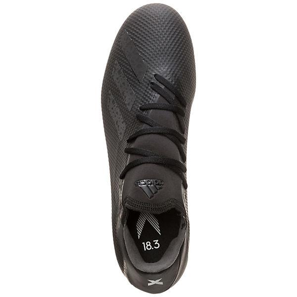 Fußballschuhe schwarz 18 Fußballschuh X adidas 3 FG Performance weiß wqY10