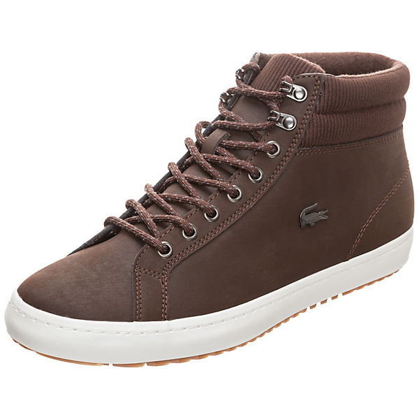 dunkelbraun Lacoste LACOSTE Insulate High Straightset Sneakers q4PX4f