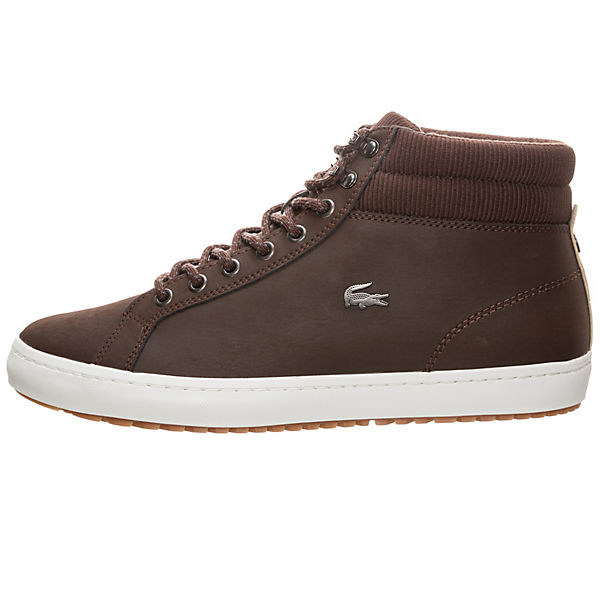 LACOSTE, Lacoste Straightset Insulate  Sneakers High, dunkelbraun   Insulate 50b031