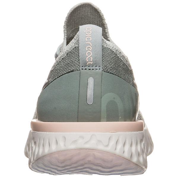 Nike Performance Epic React Flyknit Laufschuh Laufschuhe hellgrün  Gute Qualität beliebte Schuhe