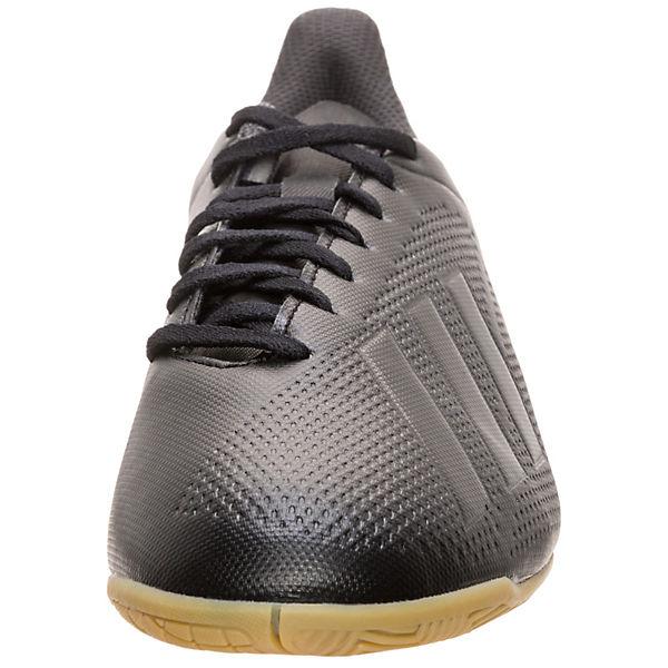 adidas Indoor Performance, X Tango 18.4 Indoor adidas Fußballschuh Fußballschuhe, schwarz   65b30d