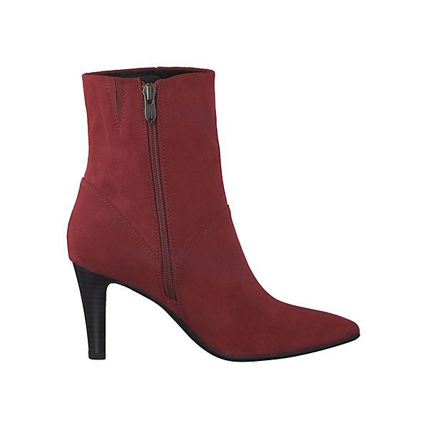 Tamaris, Ankle Boots, rot  Gute Qualität beliebte Schuhe