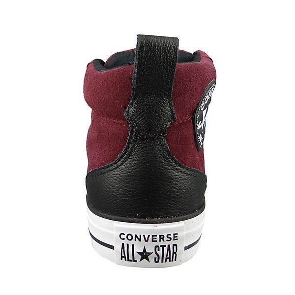 CONVERSE, CHUCK TAYLOR ALL STAR Street Mid bordeaux Dark Burgundy Black WhiteSkaterschuhe, bordeaux Mid  Gute Qualität beliebte Schuhe dc68ca