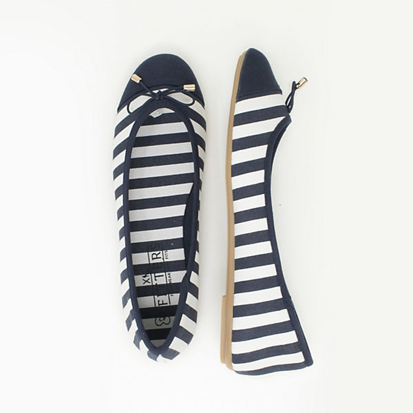 Footwear Fitters blau Ballerinas weiß GraceKlassische rr8xtqCwd