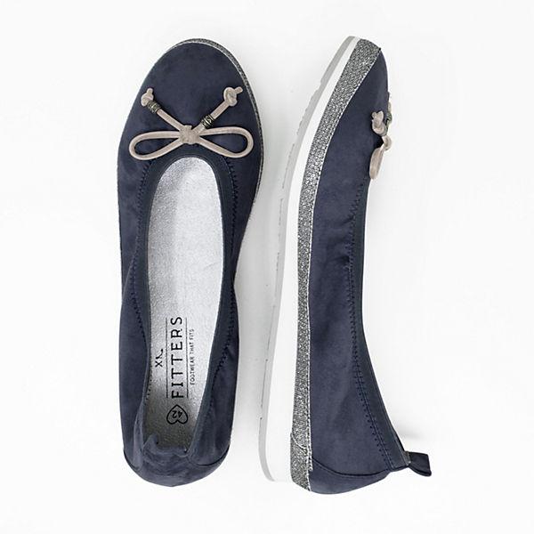 Fitters Footwear, CelineKlassische Ballerinas, dunkelblau  Gute Qualität beliebte Schuhe