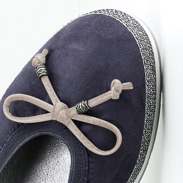 Fitters Fitters dunkelblau CelineKlassische Footwear Footwear Ballerinas 5SvYw0SRqx