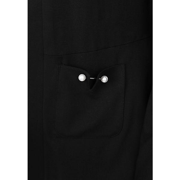 Blazer Doris JerseyBlazer leichtem aus Streich schwarz vBfBRwq