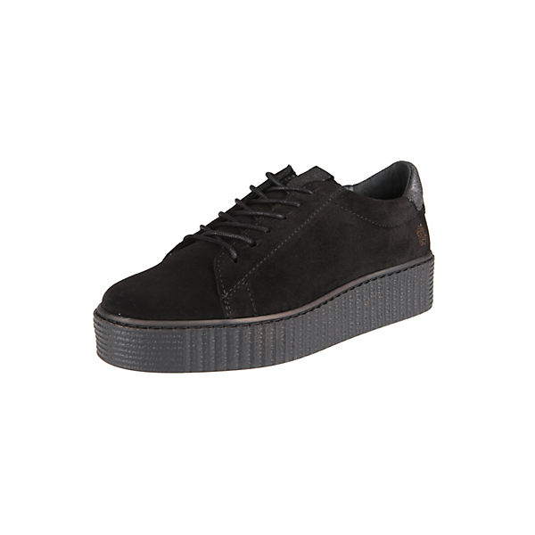 Sneaker GLORIASneakers of Eden schwarz Apple Low Plateau 1n7afwgw