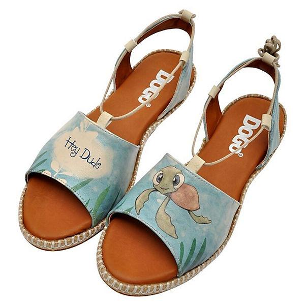 Dogo Shoes, Hazel Caretta-Hey Dude Klassische Sandalen, blau  Gute Qualität beliebte Schuhe