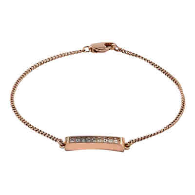 Buckley London Armschmuck Messing rosévergoldet mit KristallenArmbänder