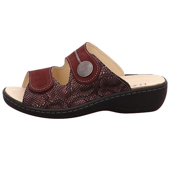 Longo, Pantoletten, beliebte rot-kombi  Gute Qualität beliebte Pantoletten, Schuhe 104611