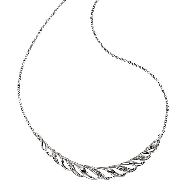 Diamonds by Ellen K. Collier 925/- Sterling Silber Diamant 0,25ct.Halsketten