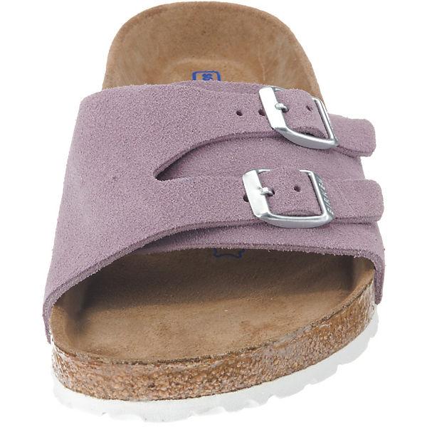 BIRKENSTOCK, Vaduz Weichbettung weit beliebte Pantoletten, violett  Gute Qualität beliebte weit Schuhe 1dce10