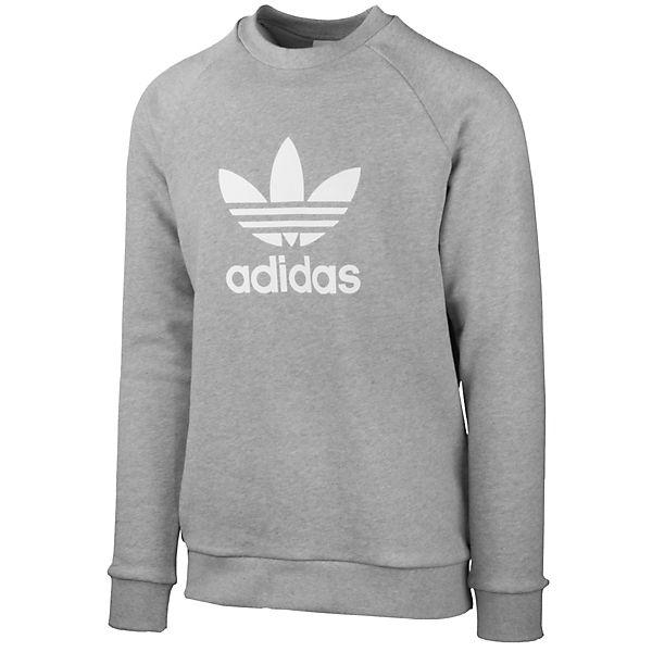 adidas Originals Pullover Trefoil CrewSweatshirts grau