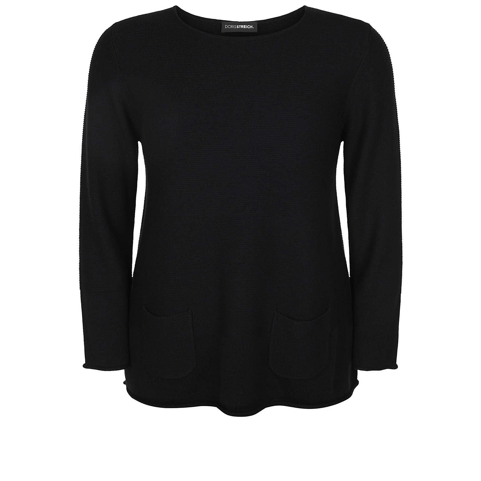 Doris Streich Sweatshirts schwarz Damen Gr. 50