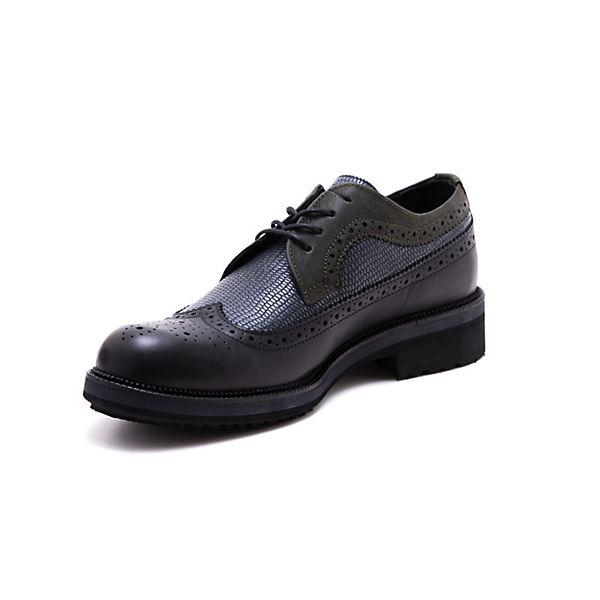 Greyder Greyder Klassische Klassische Halbschuhe schwarz Greyder schwarz Halbschuhe twI7Rqt8