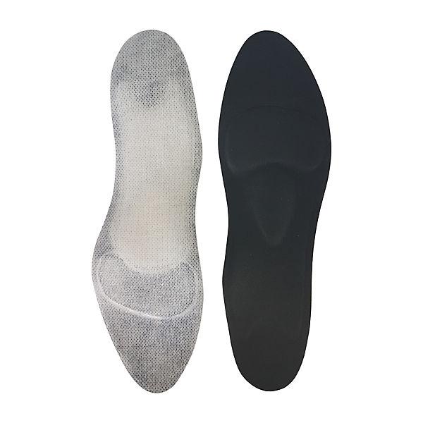 Schuheinlagen für Ballerina schwarz GreenFeet Damen orthopädische 8mm 1 caOa8vBI