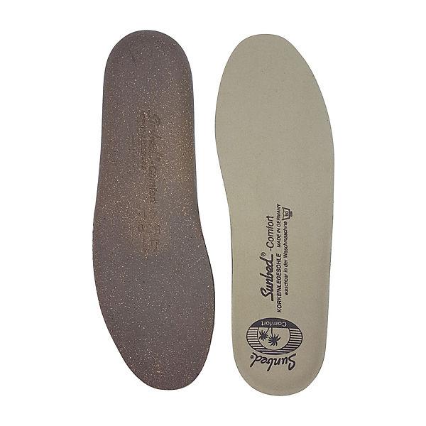 Sunbed Comfort Kork Schuheinlagen beige