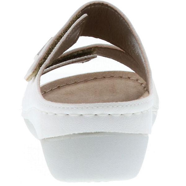 Vista Komfort Komfort weiß Vista Pantoletten aqE1Od