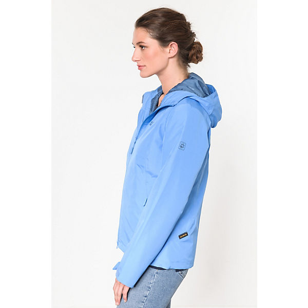 Chilly Morning Wolfskin Jack Winterjacke hellblau HEnzSwzOq