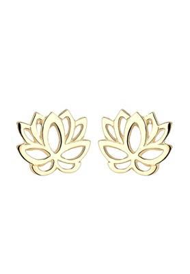 925 Sterling Silber Ohrringe Ohrstecker Blume Blüte Lotus Lotusblume Geschenk