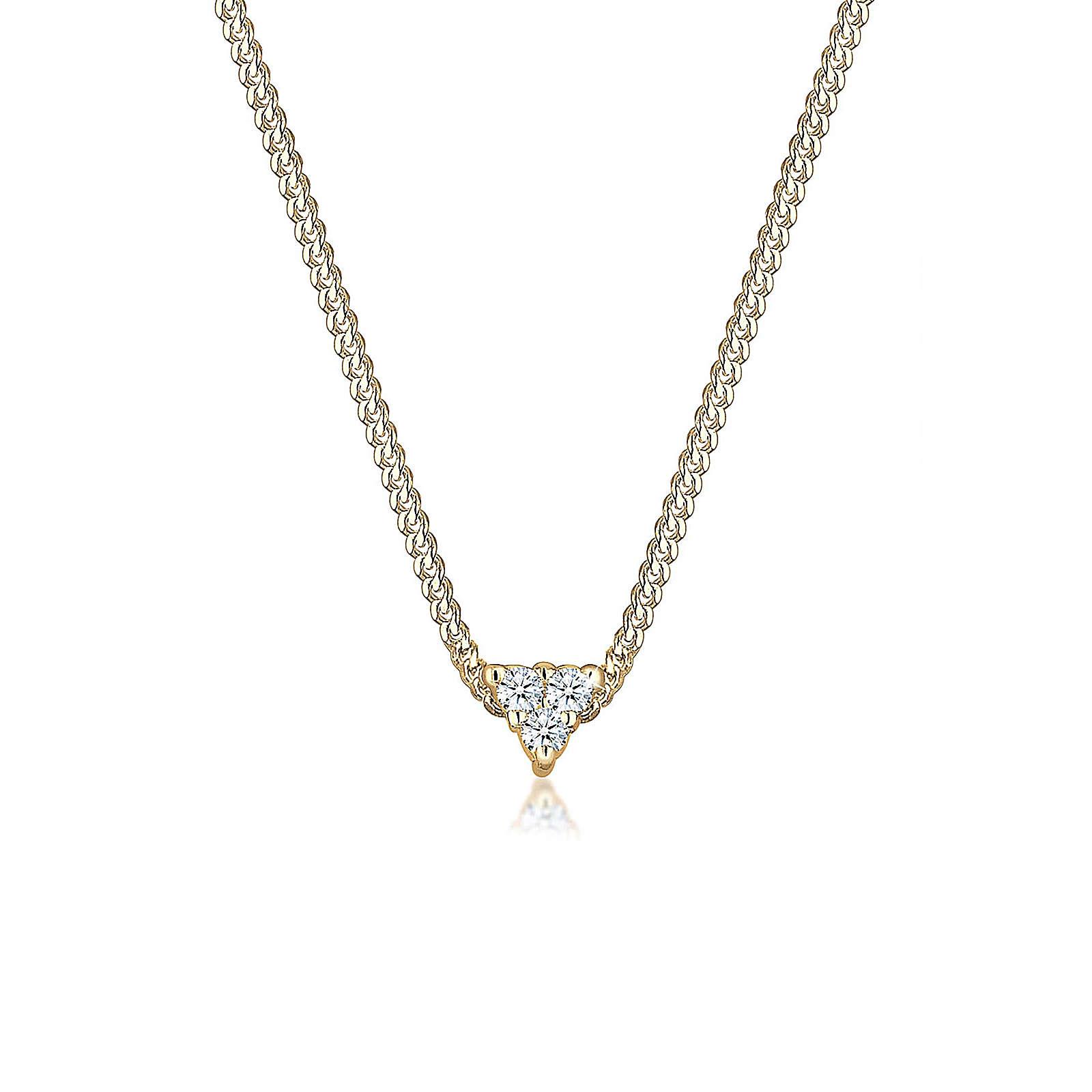 Diamore Halsketten gold Damen