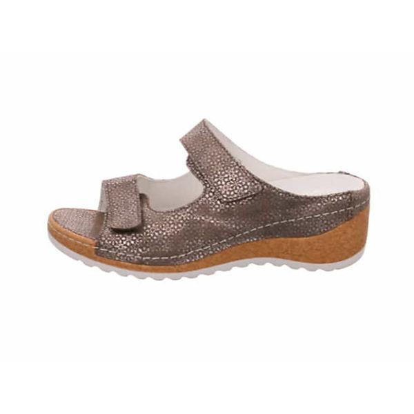 WALDLÄUFER Pantoletten beige  Gute Qualität beliebte Schuhe