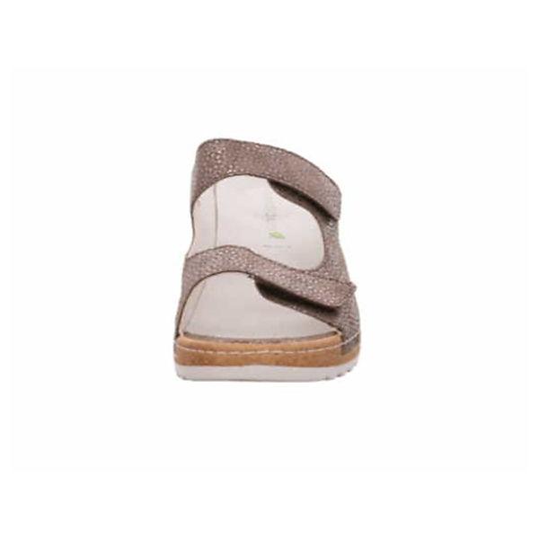 WALDLÄUFER, Pantoletten, beliebte beige  Gute Qualität beliebte Pantoletten, Schuhe 6b7bea