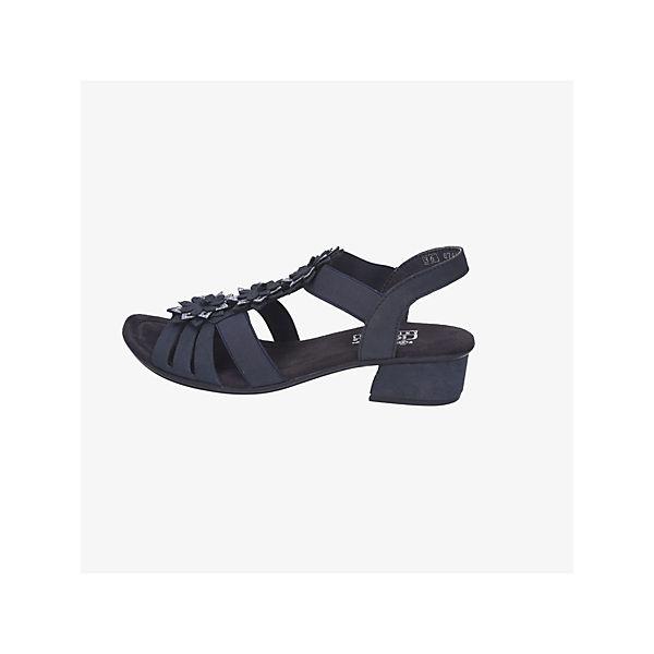 Rieker, Klassische Sandaletten, blau  Gute Qualität beliebte Schuhe