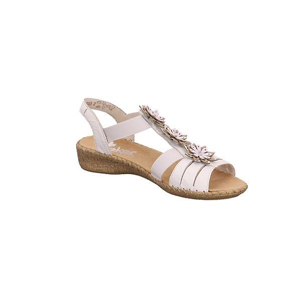 rieker Klassische Sandalen weiß Sandalen Klassische weiß rieker 1xxfnHp